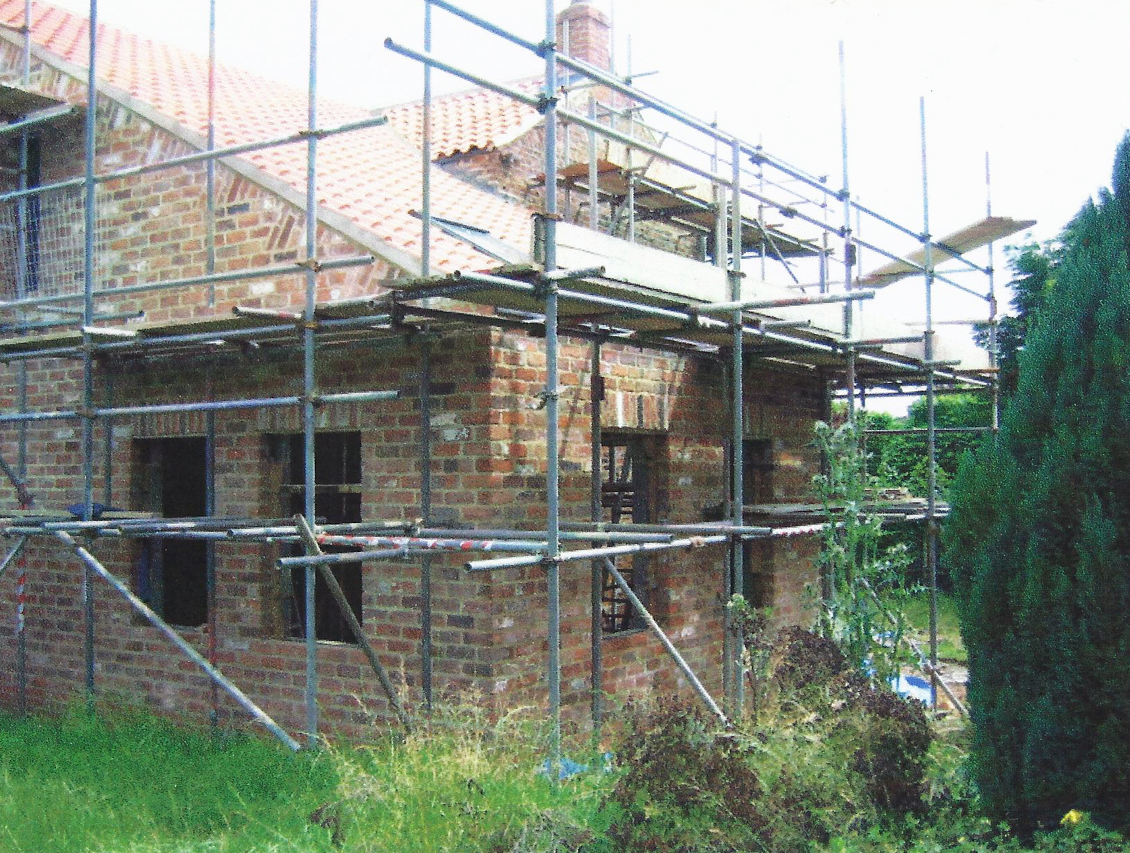 Construction 4 - Walbut House - York Architects - Samuel Kendall Associates.jpg