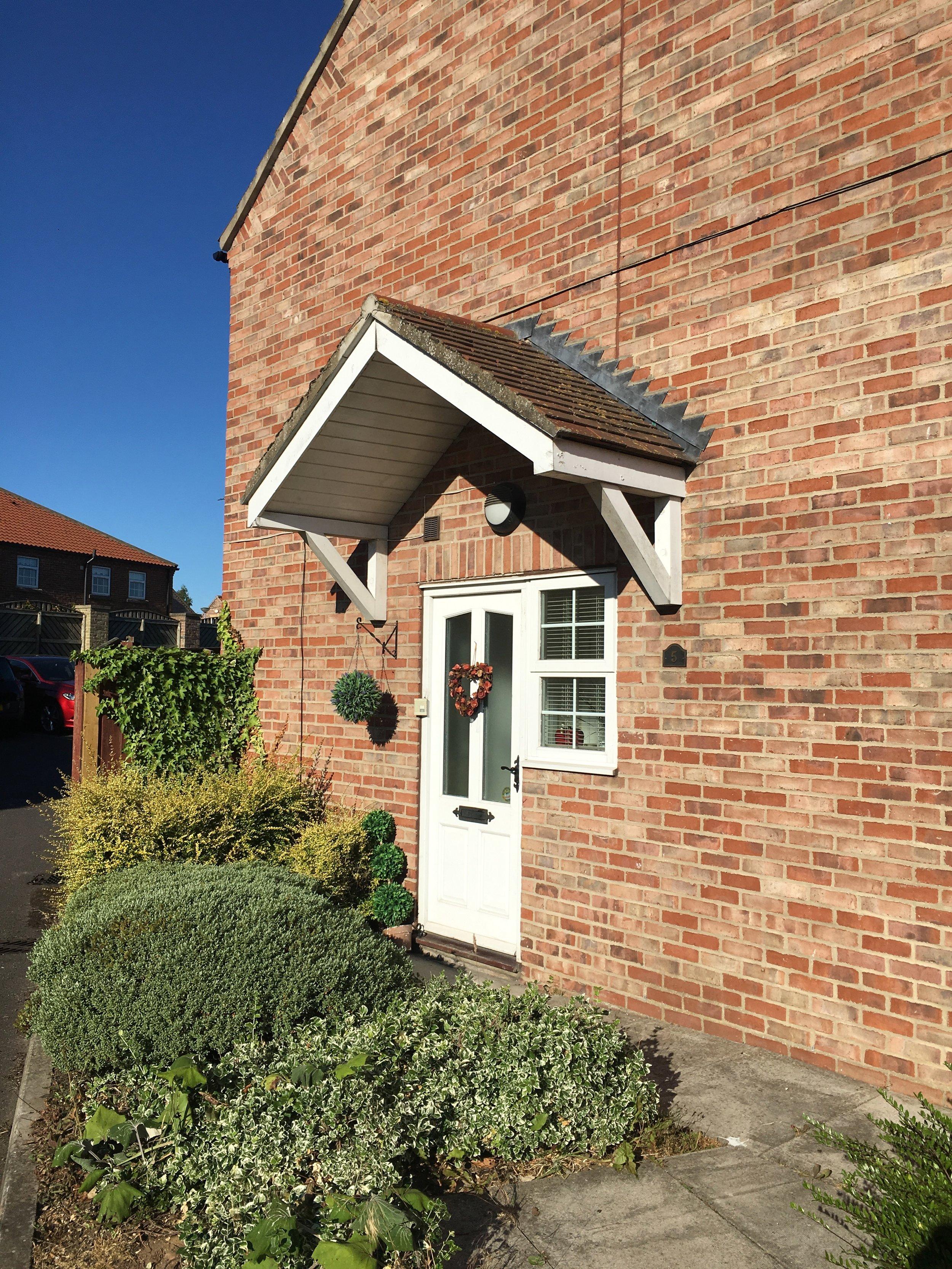 Orchard Mews Doorway 1 - Samuel Kendall Associates - Driffield Architects
