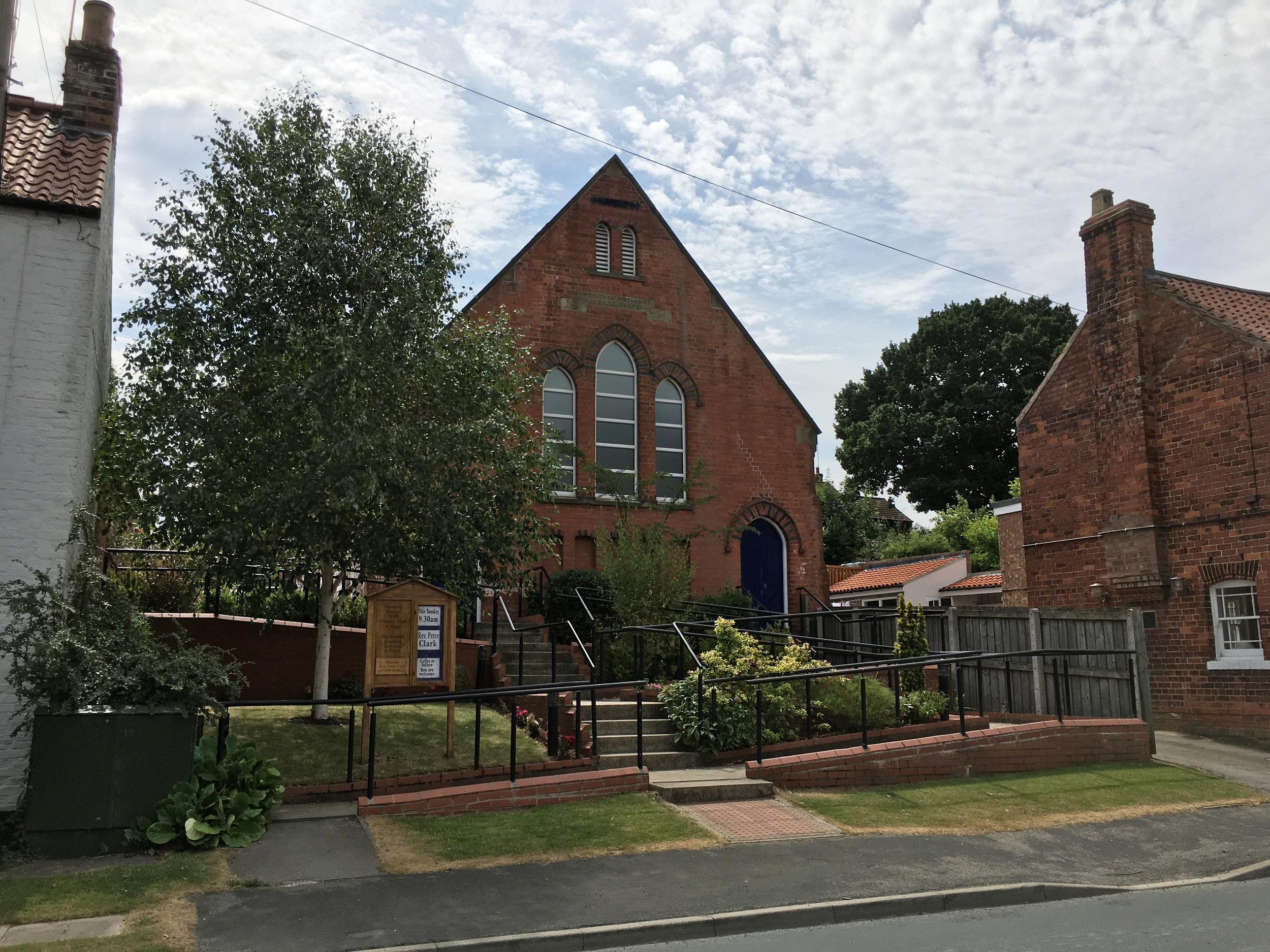 Walkington Methodist Chapel Access 1 - Samuel Kendall Associates - Beverley Architects