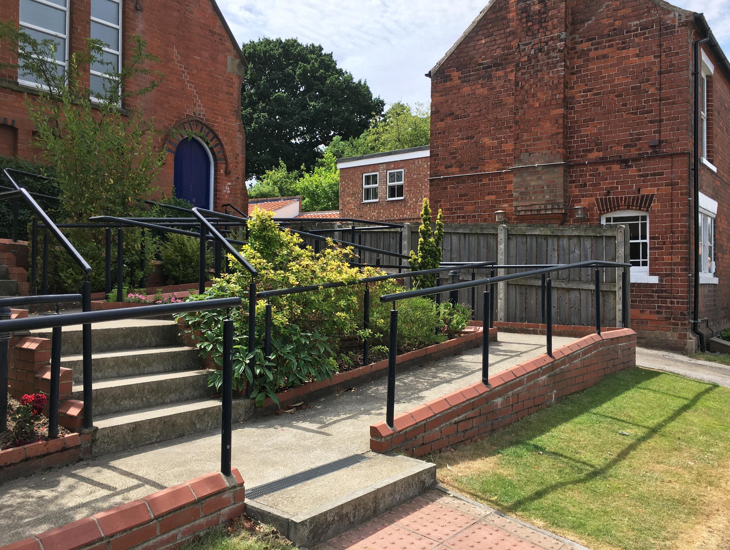 Walkington Methodist Chapel Access 2 - Samuel Kendall Associates - Beverley Architects