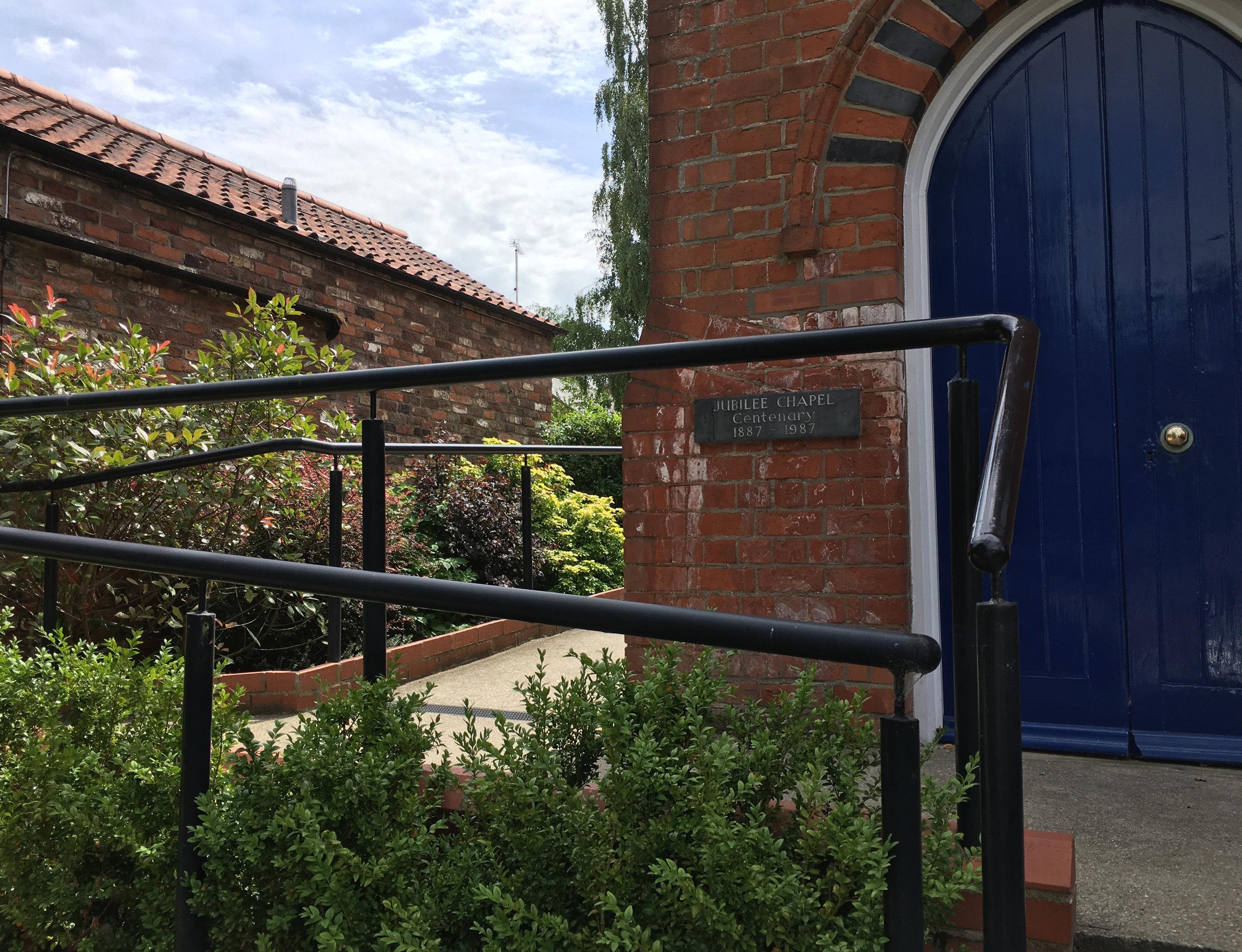 Walkington Methodist Chapel Access 8 - Samuel Kendall Associates - Beverley Architects.jpg