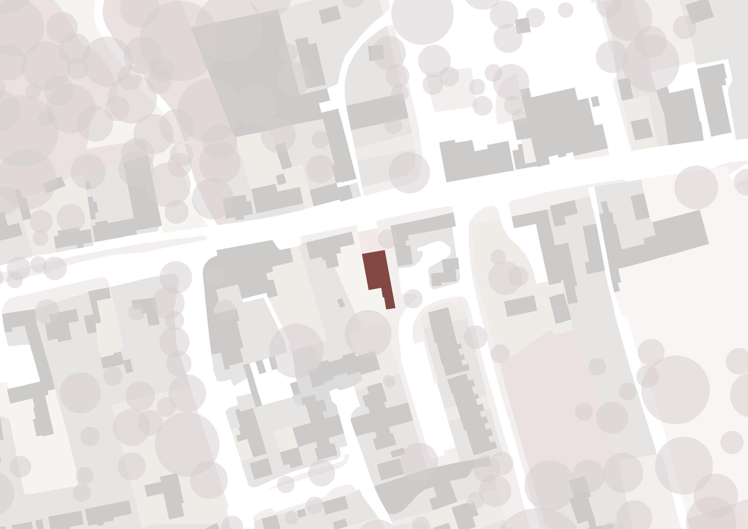 Walkington Methodist Chapel Map - East Yorkshire Architects - Samuel Kendall Associates