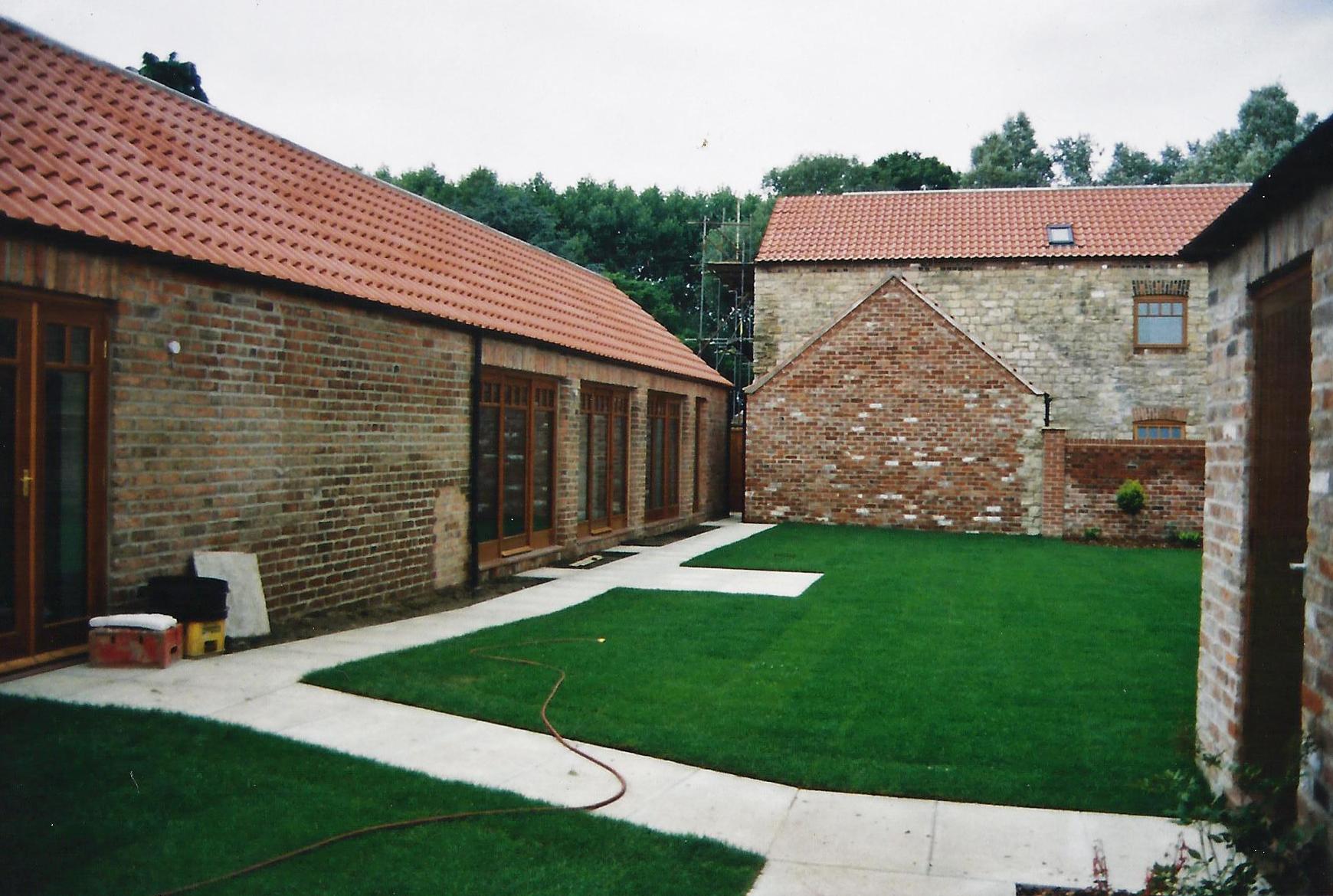 Brecks Farm Construction 2 - East Yorkshire Architects - Samuel Kendall Associates.jpg