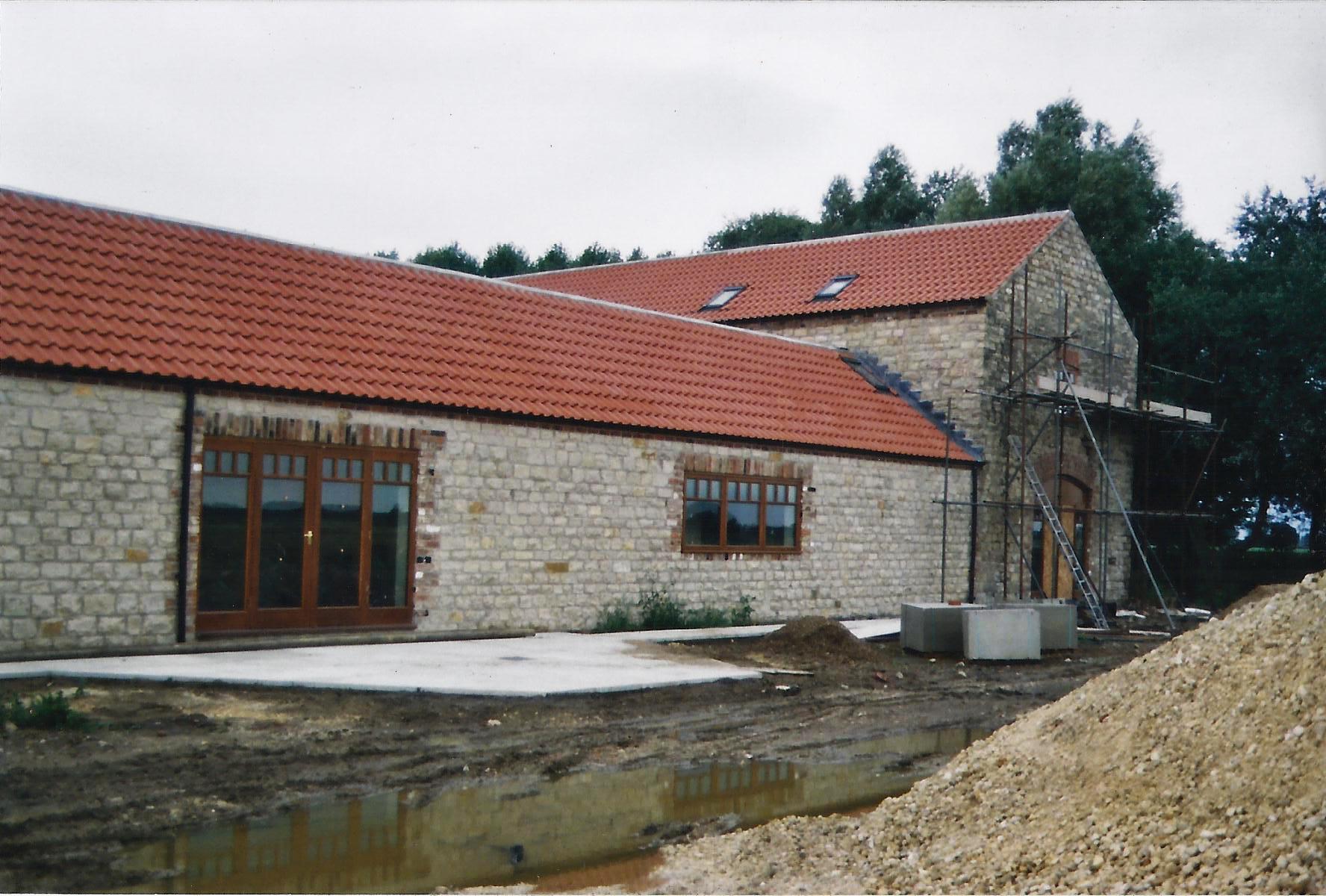 Brecks Farm Construction 4 - East Yorkshire Architects - Samuel Kendall Associates.jpg