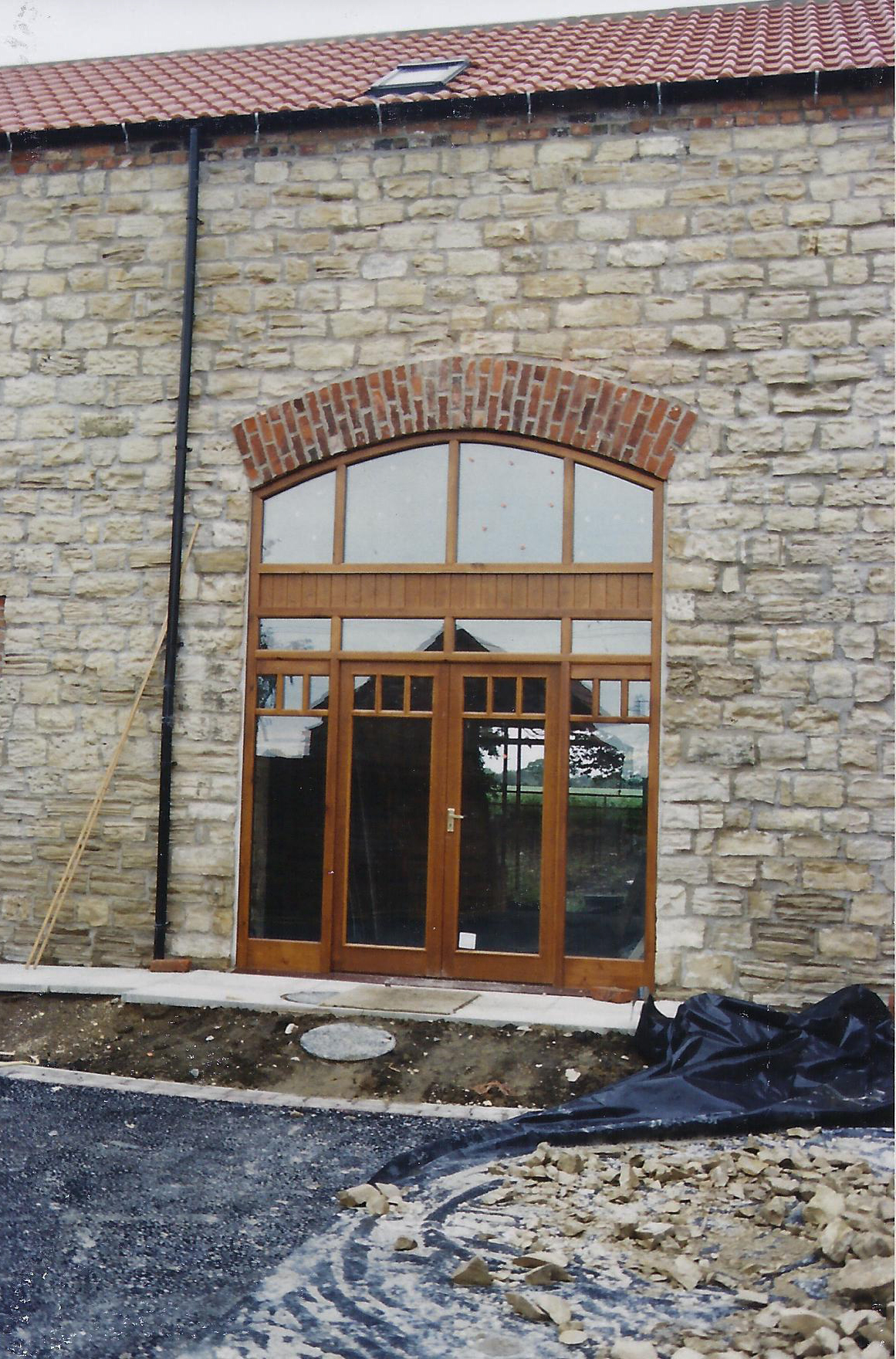Brecks Farm Construction 8 - East Yorkshire Architects - Samuel Kendall Associates.jpg