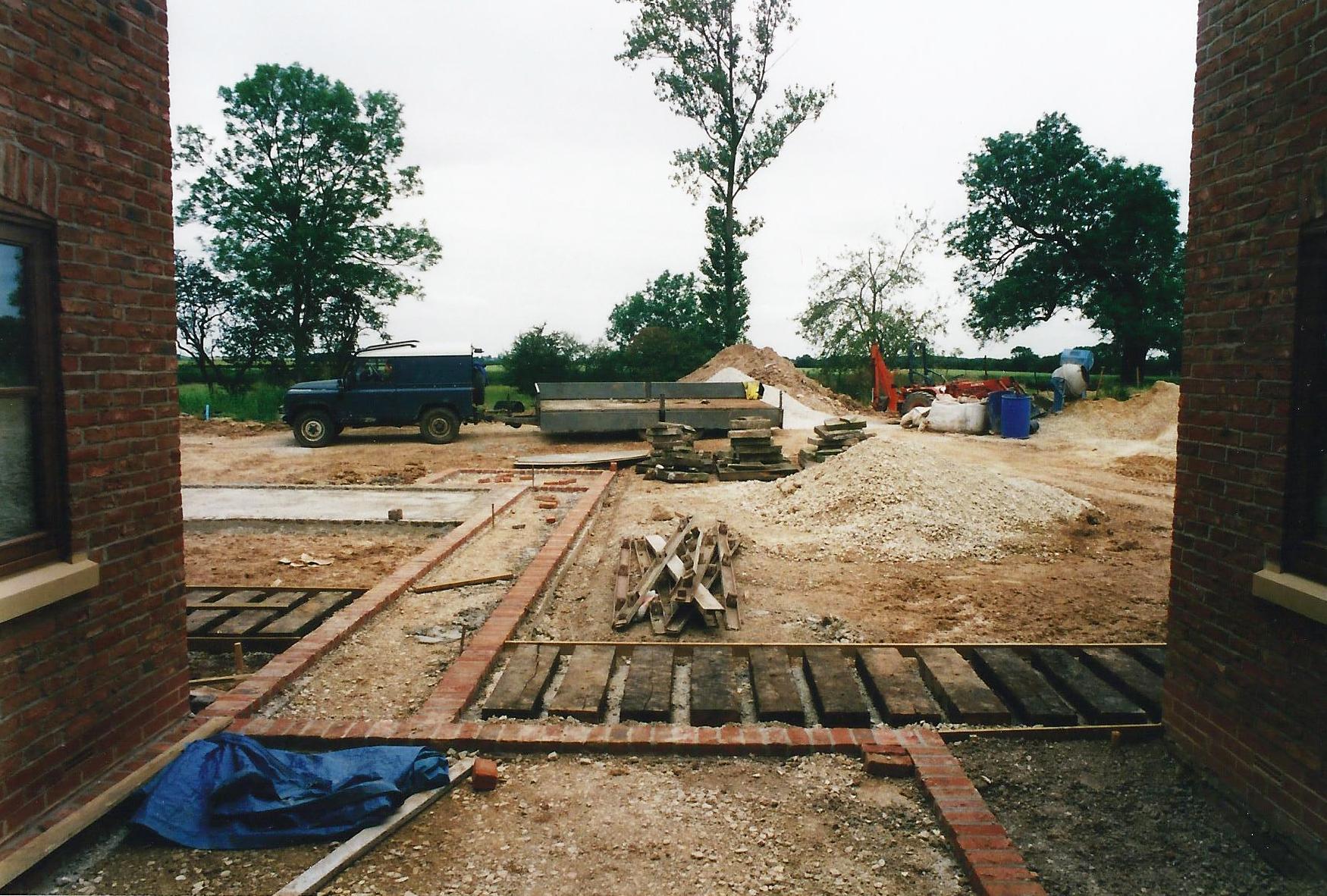 North End Farm Construction 2 - East Yorkshire Architects - Samuel Kendall Associates.jpg