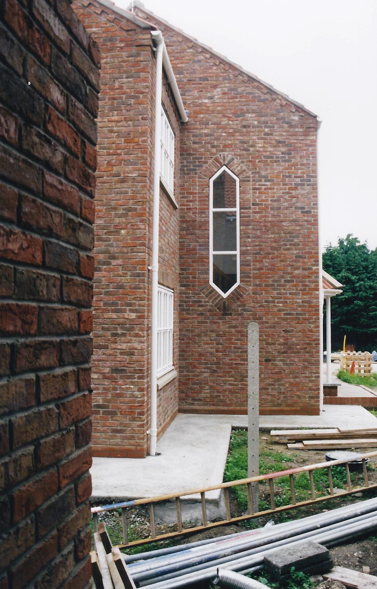 Blenheim Cottage Construction 3 - East Yorkshire Architects - Samuel Kendall Associates.jpg