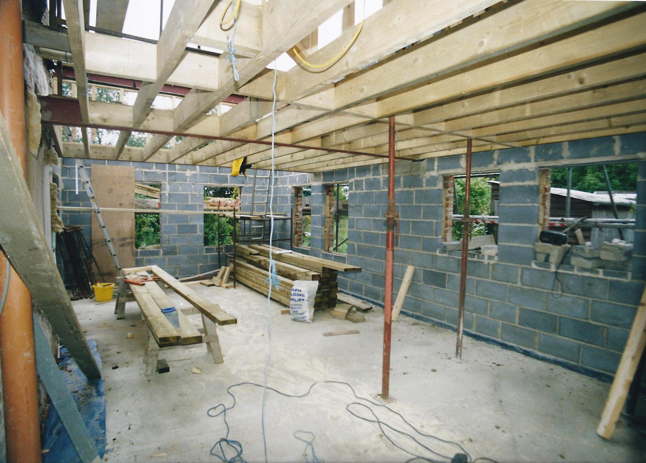 Walbut House Construction In 3 - Samuel Kendall Associates.jpg