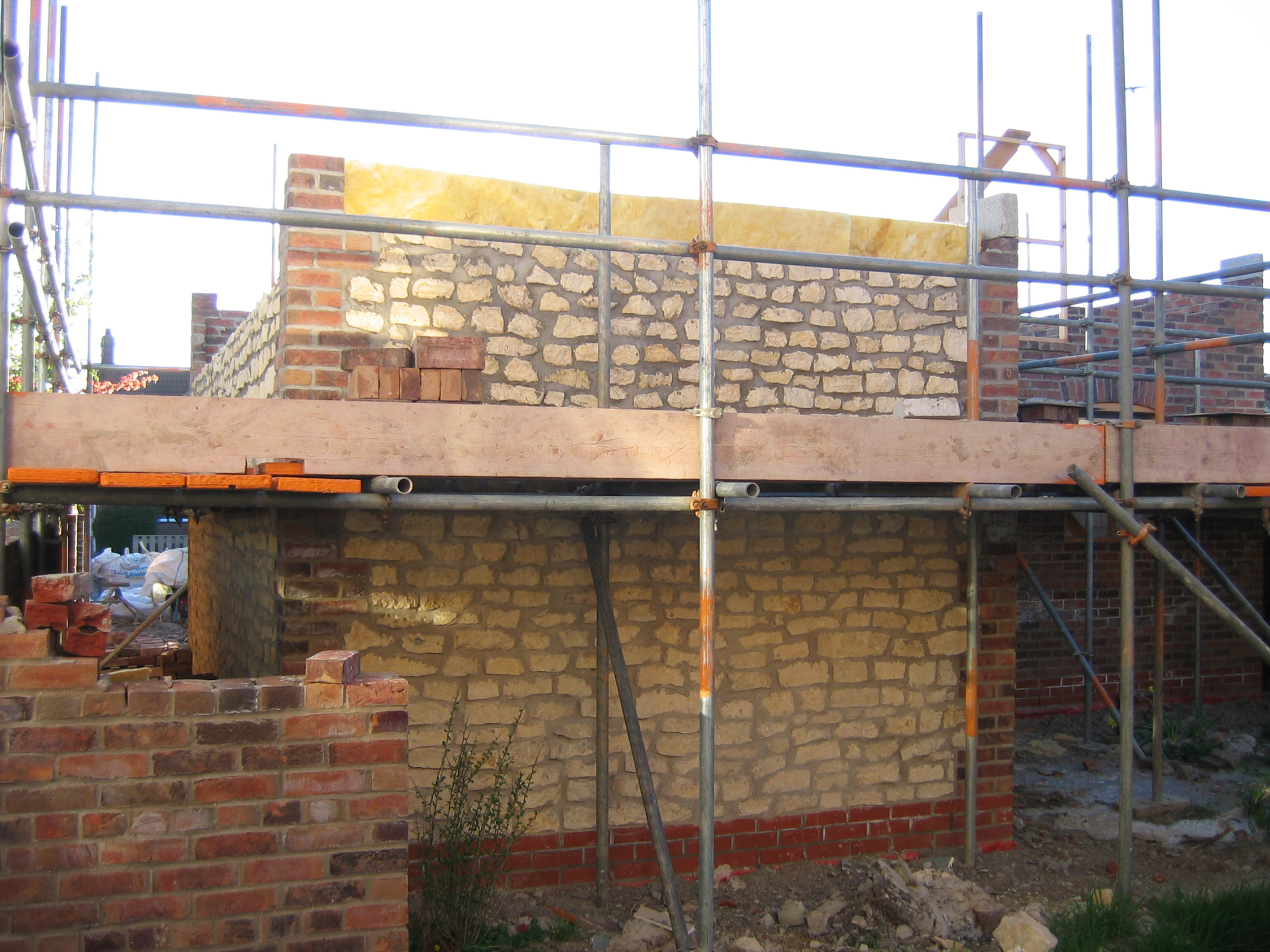 Flamborough Cottage Construction 6 - Bridlington Architects - Samuel Kendall Associates.JPG