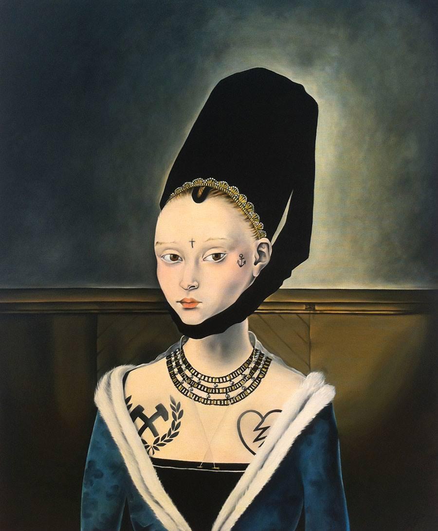 Portrait d'une jeune femme, Petrus Christus