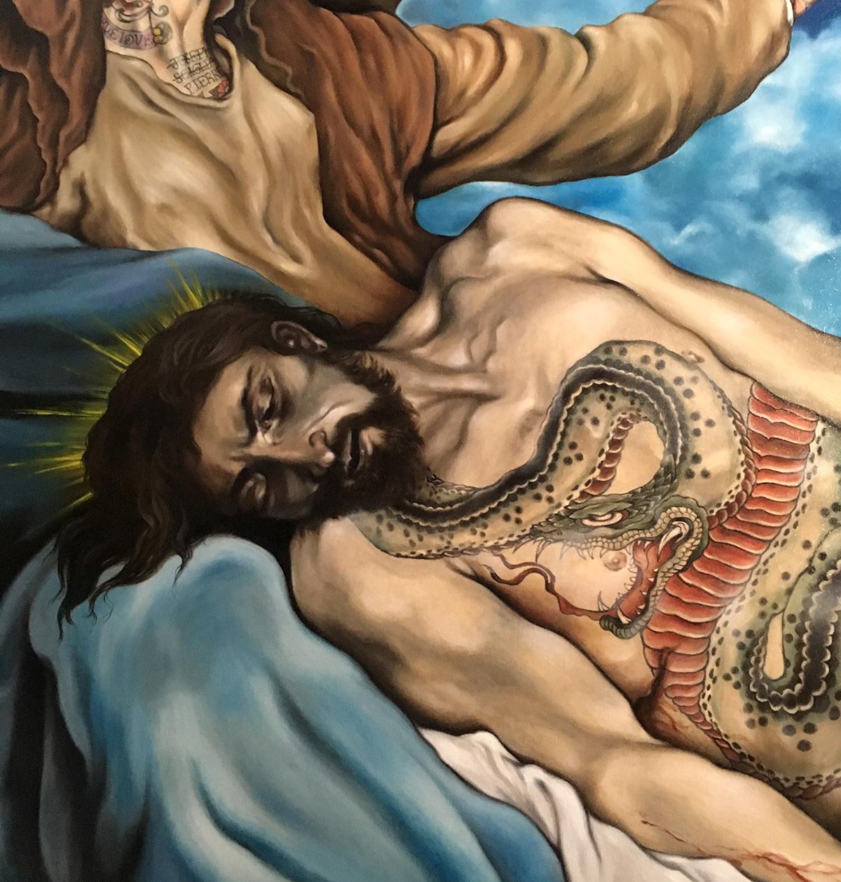 Lamentation du Christ (détail)