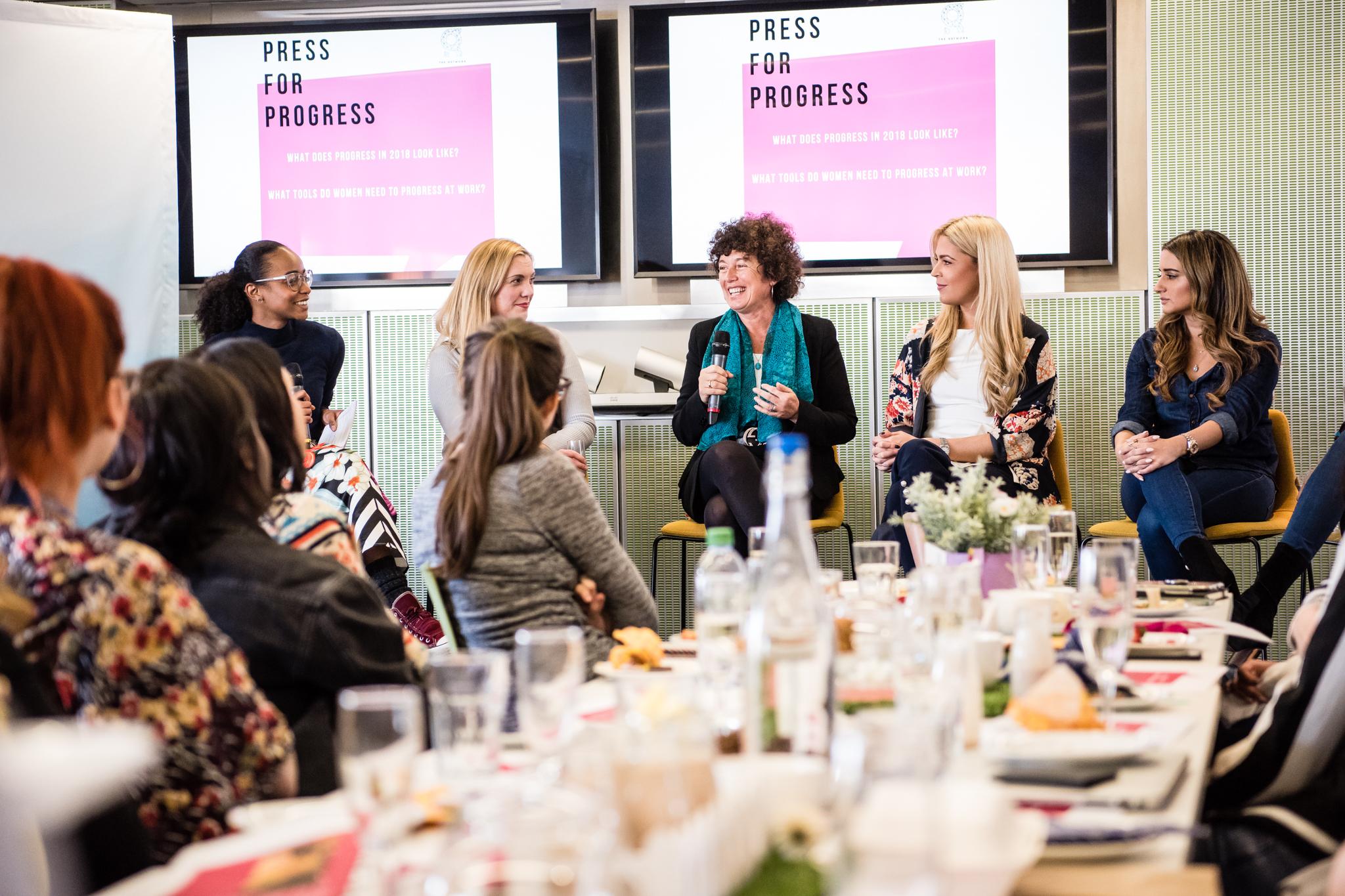 Press for Progress x International Women's Day 2018  GLOBAL HQ