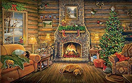 """""""Holiday Rest"""" 550 Piece Jigsaw Puzzle"""