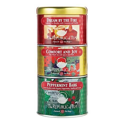 The Republic Of Tea Holiday Stackable Tea