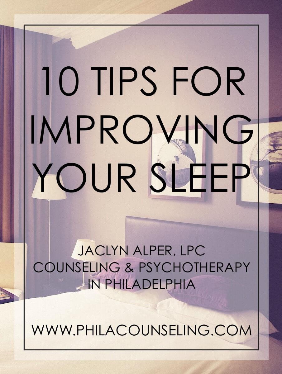 10 Tips for Improving Your Sleep - Sleep Hygiene