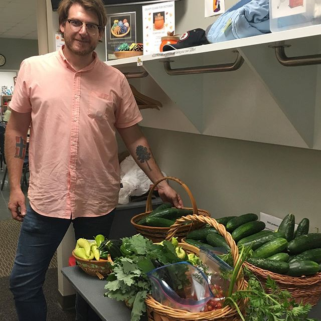 Did you know that more than 1 in 4 of our local White Bear Area Seniors will not have the expendable income to fully fund a nutritious diet?!Here's one of our delivery drivers Dropping off round 2 of our Senior Program Initiative produce delivery at the White Bear Senior Program. More than 90 lbs of this drop-off came from the Giving Gardens at the White Bear Lake United Methodist Church Community Garden @wblumc !! Giving Gardens ❤️'s our  White Bear Area Seniors!!