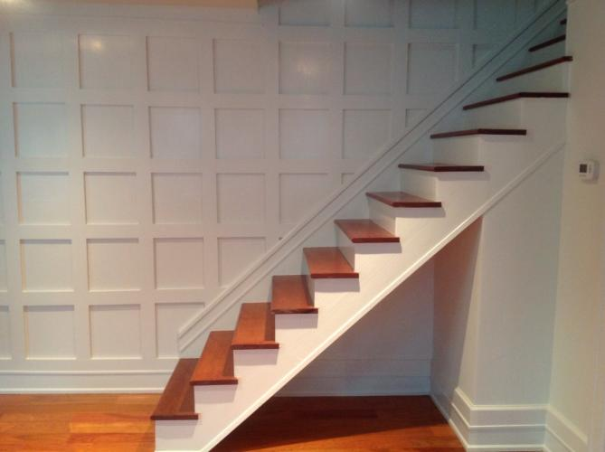 """Looking for a way to create architectural interest to a small room? Moulding is a """"Wow factor feature that stays in people's minds"""" according to Kiplinger's """"8 Easy Projects that Add Value to Your Home""""."""