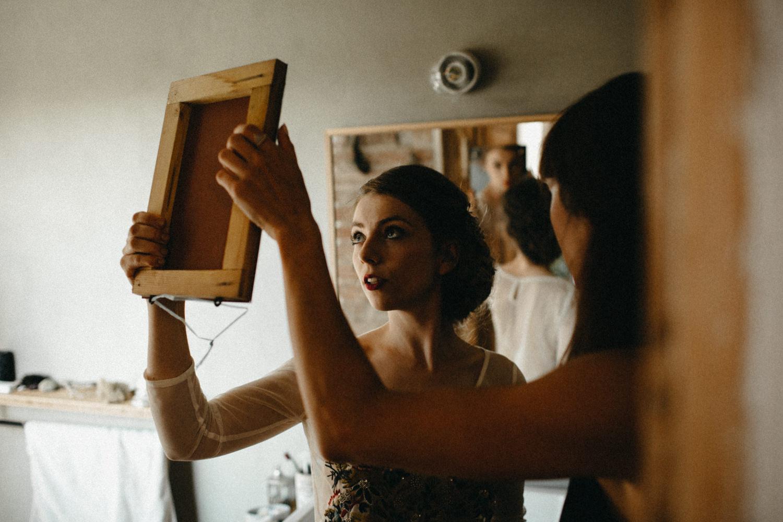 fine art photo of a bride