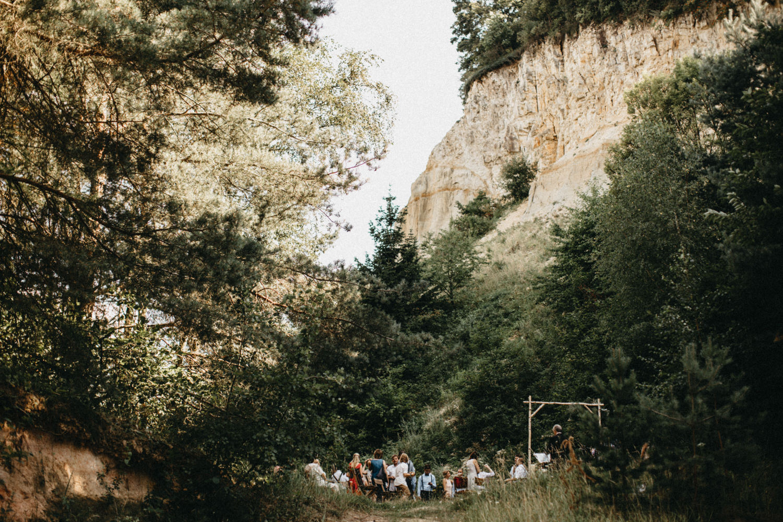 ceremony location - old quarry