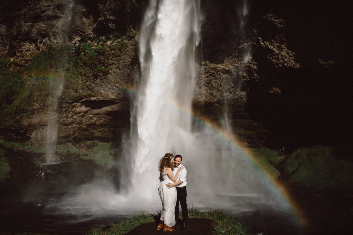 typical Iceland elopement location