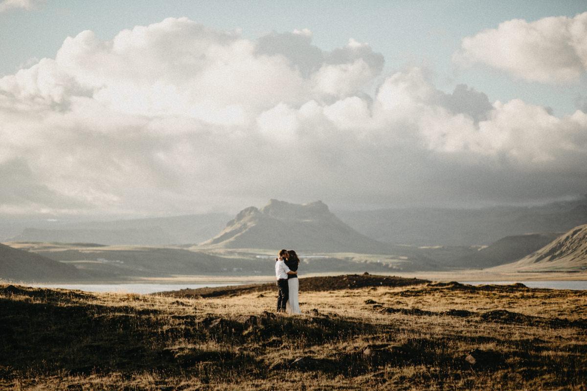 epic view on Icelandic landscape