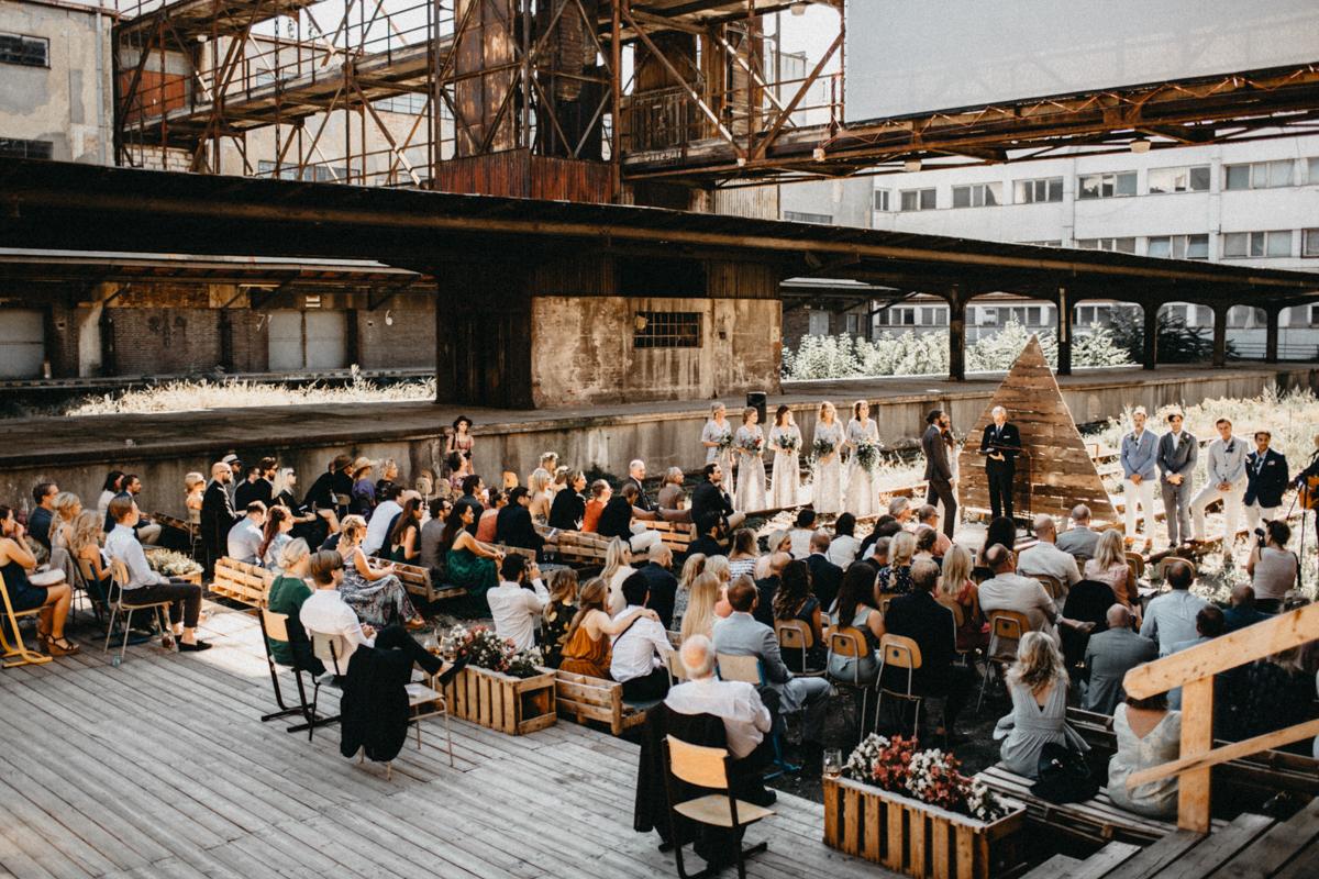 industrail wedding venue