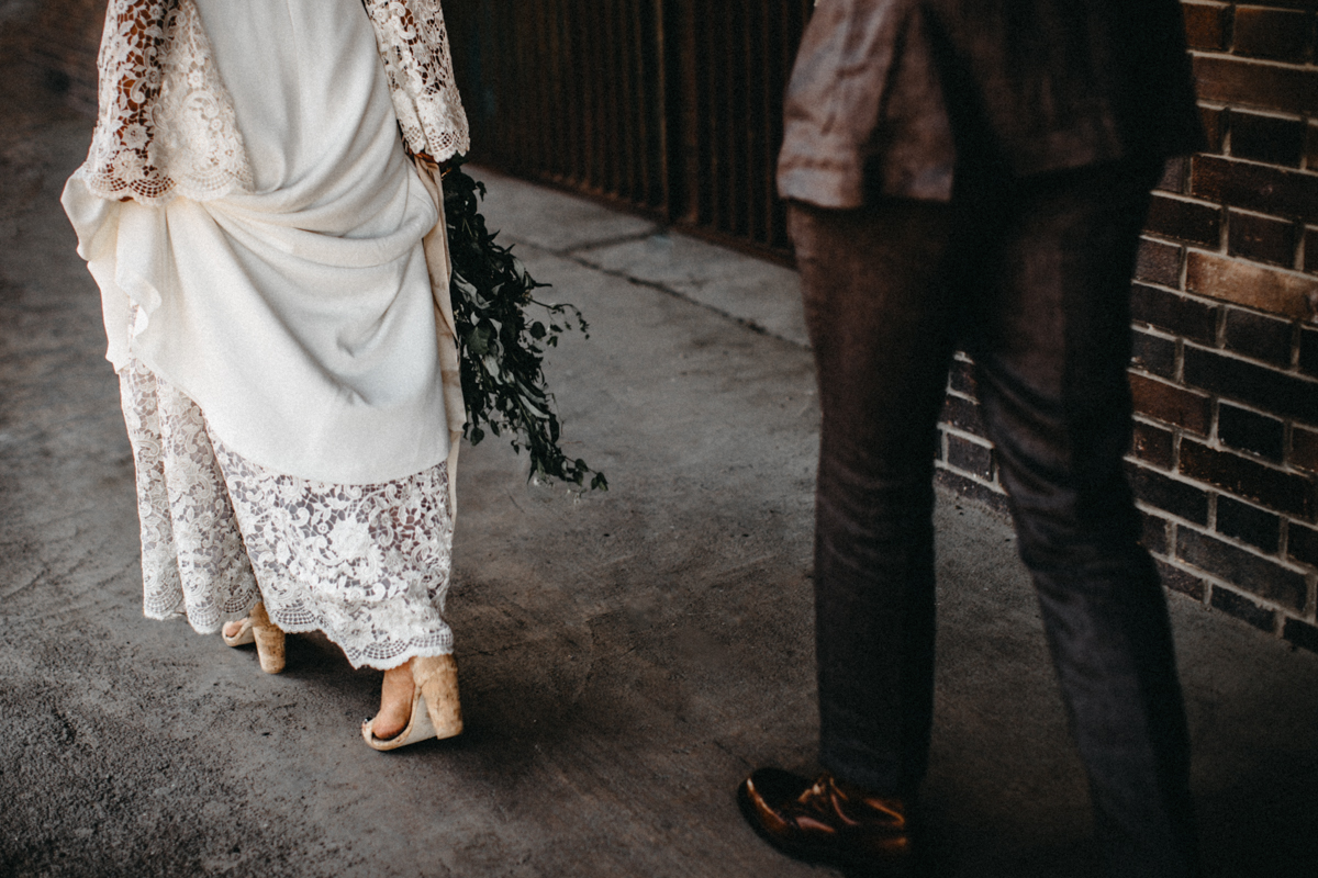boho wedding details
