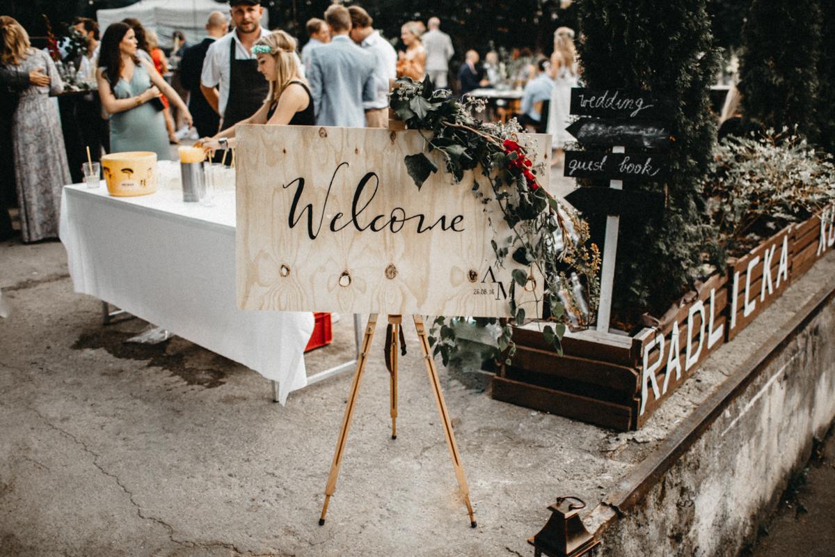 wedding design welcome