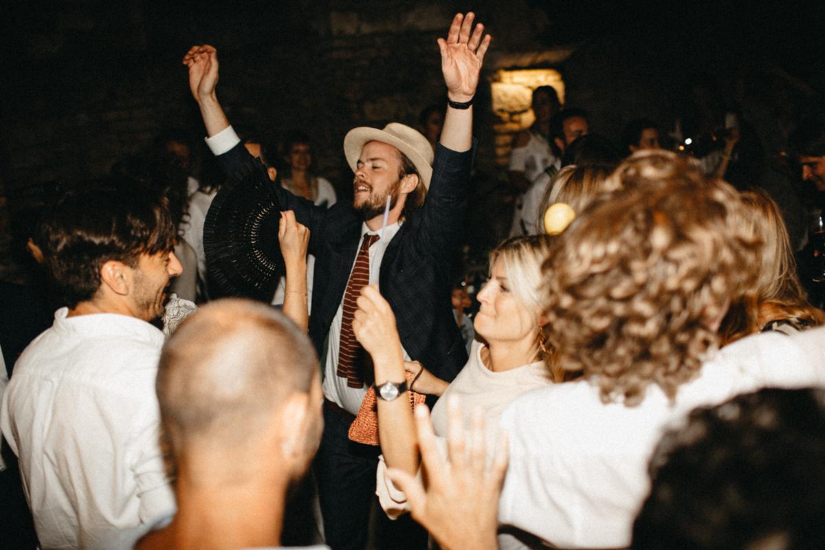 best man enjoying the dance floor