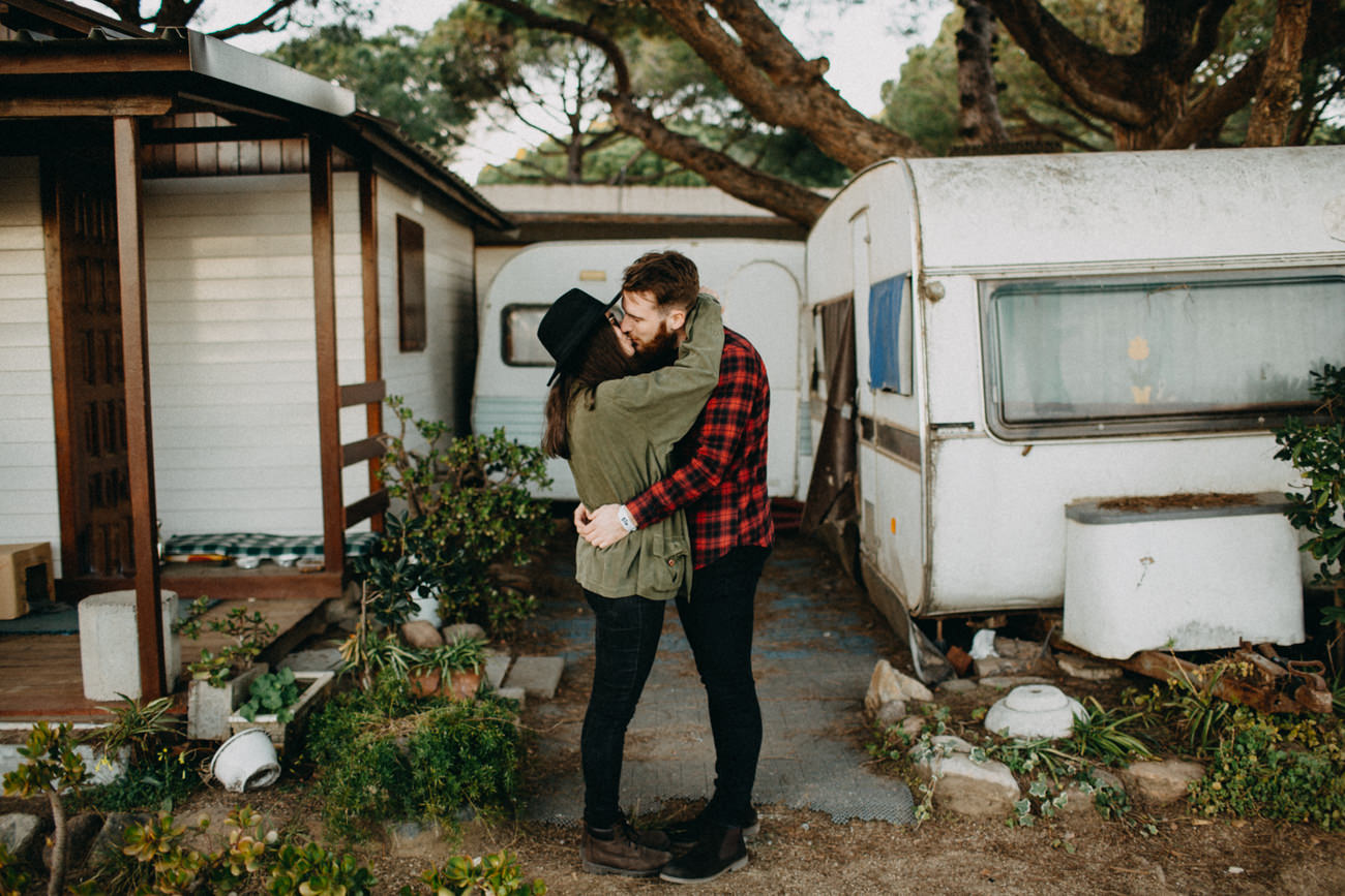 campground kiss