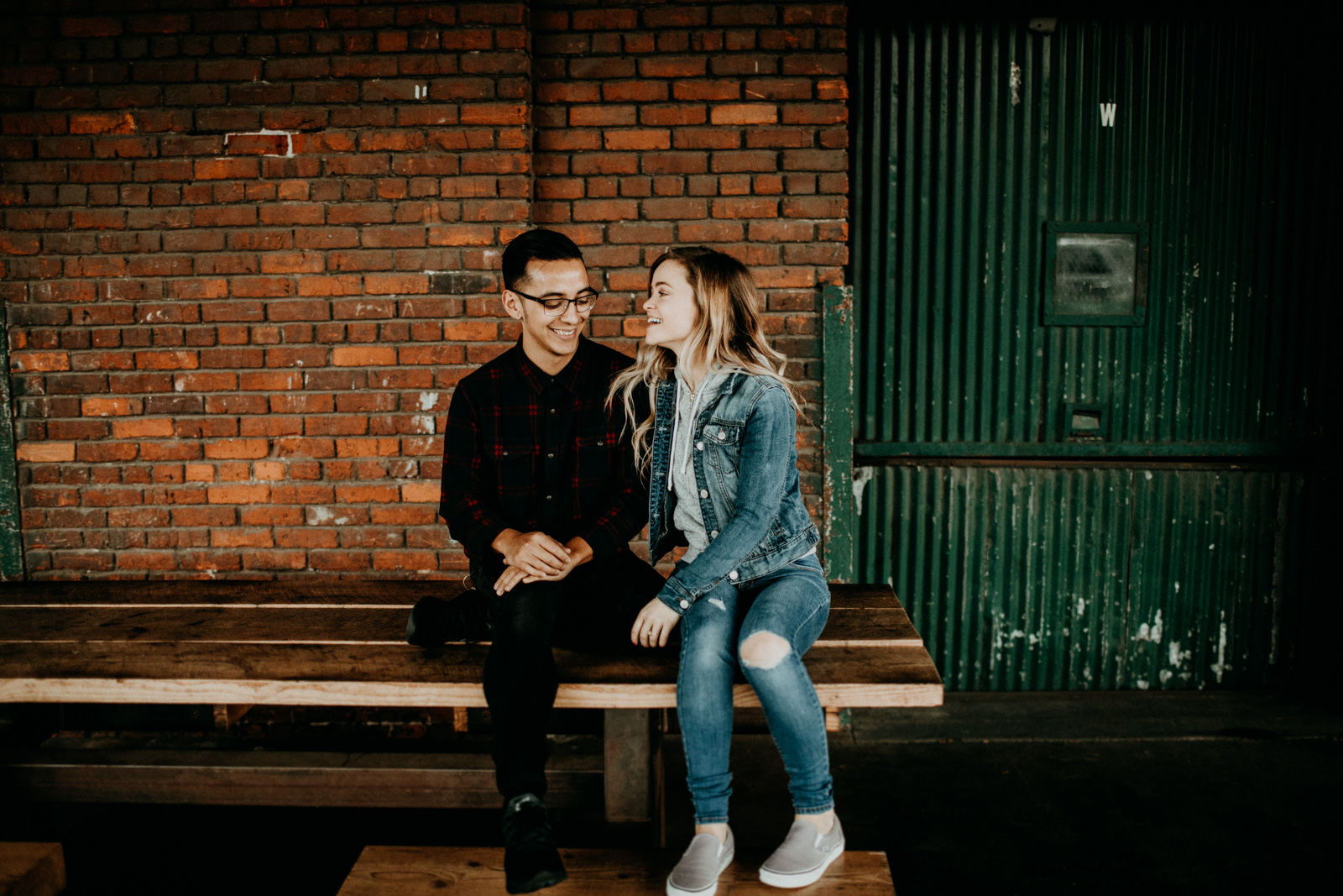 industrial engagement shoot locaion