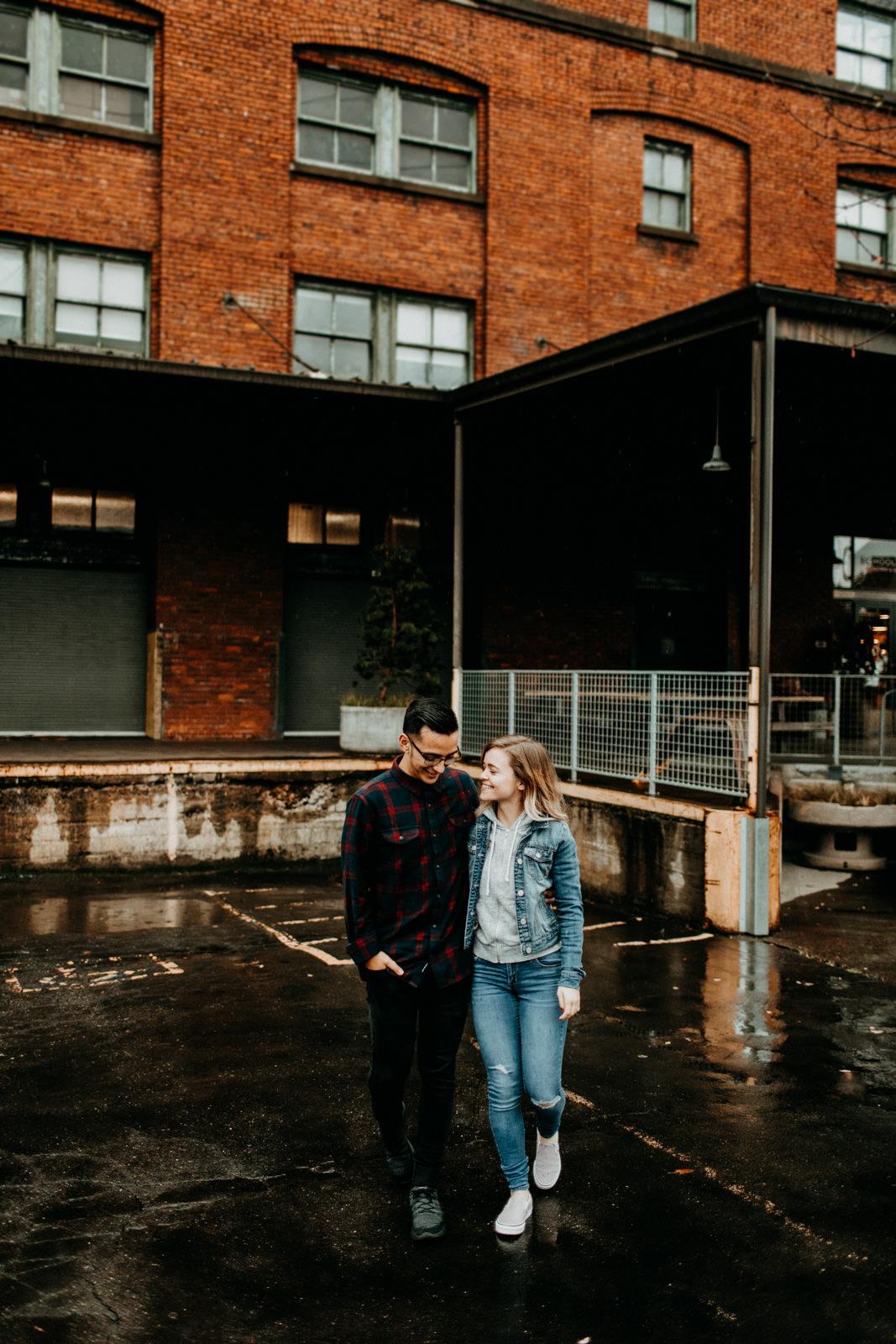 portland industrial couple photos