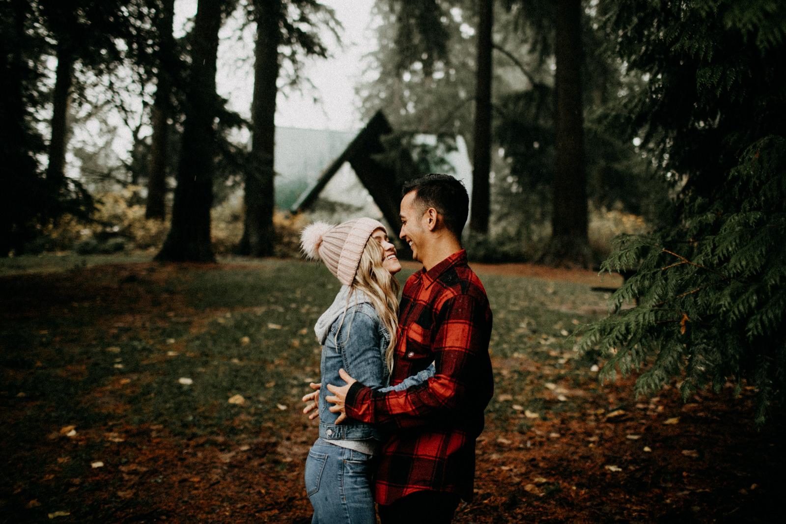 hoyt arboretorum couple photos