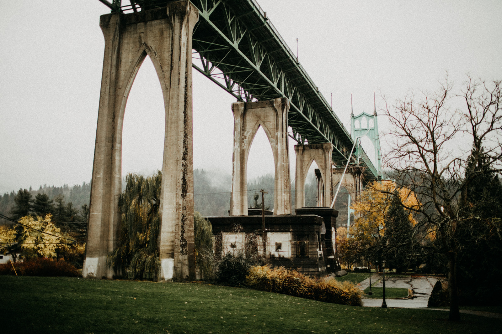 st johns bridge in portland, oregon