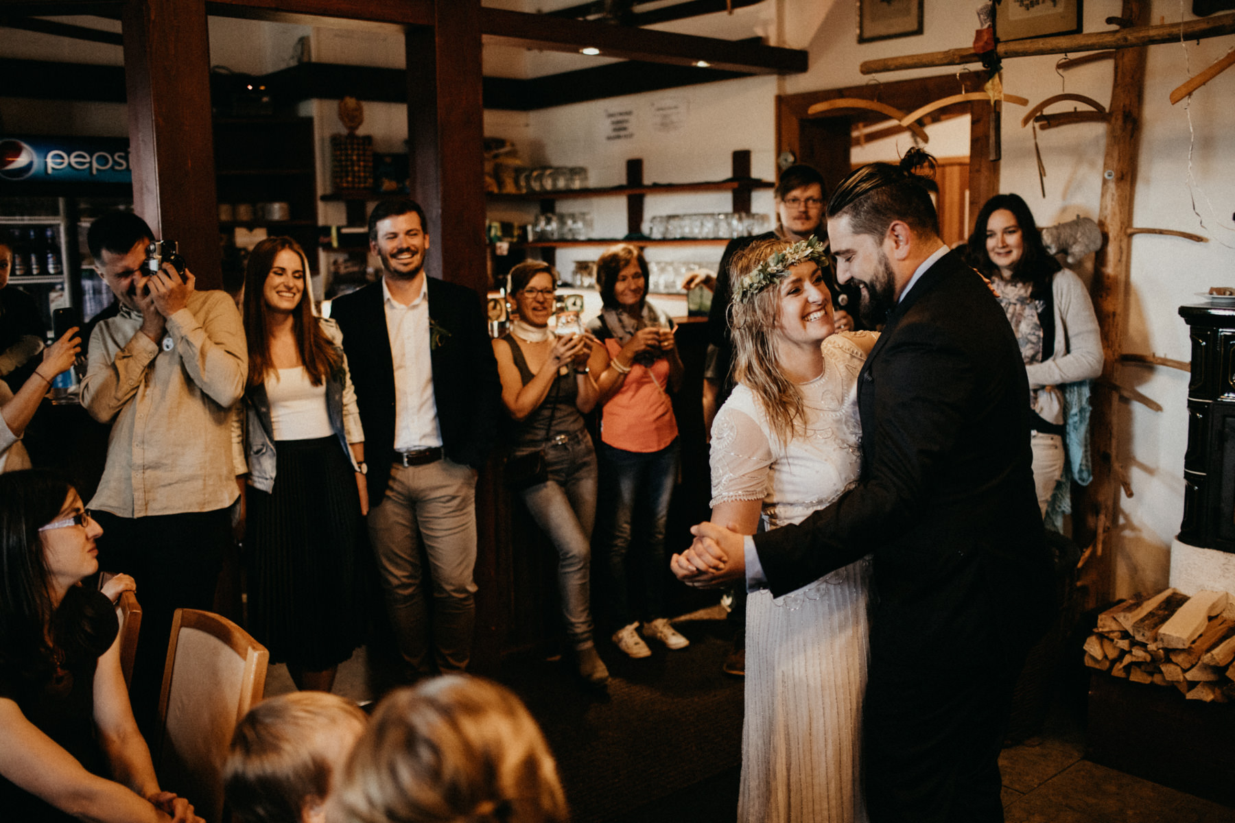 first dance in the cabin