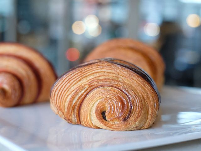 Chocolate 👏 for 👏 breakfast! #painauchocolat
