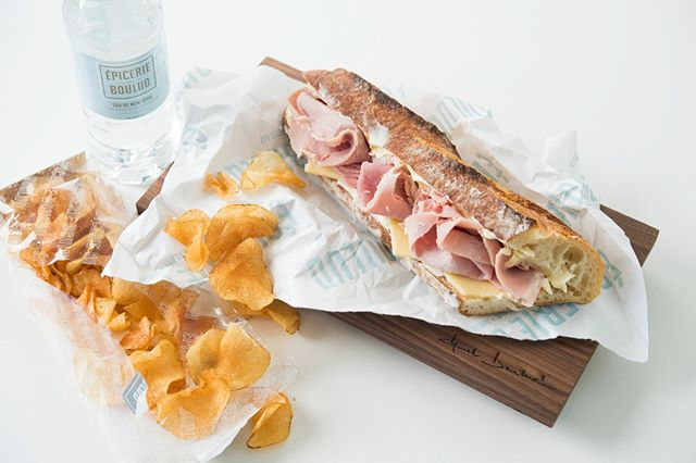 A sandwich that transcends meal times, the Jambon Beurre can be enjoyed for #breakfast, #lunch or #dinner!