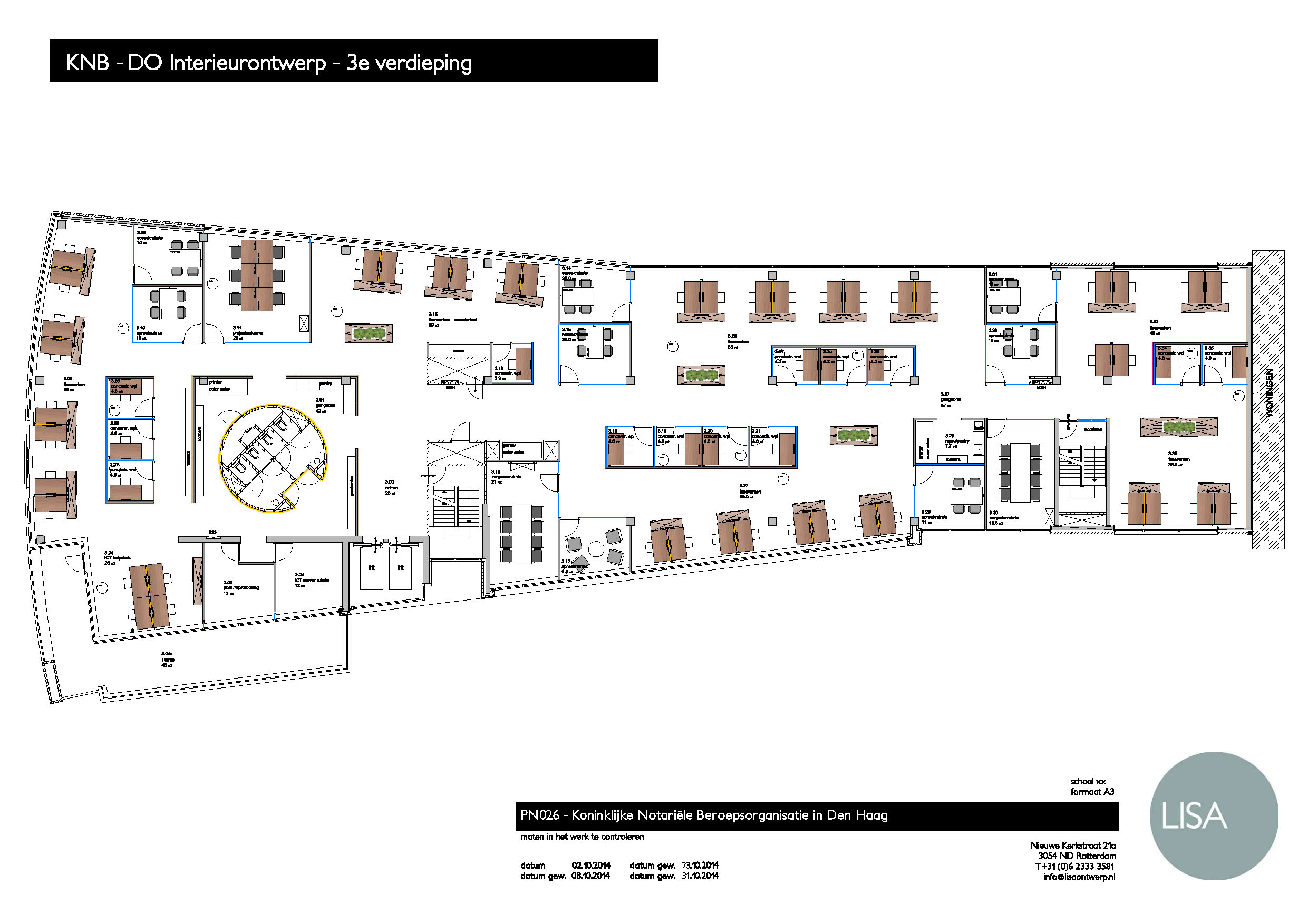 00 KNB - DO 3e Verdieping - meubilair - 31102014.jpg