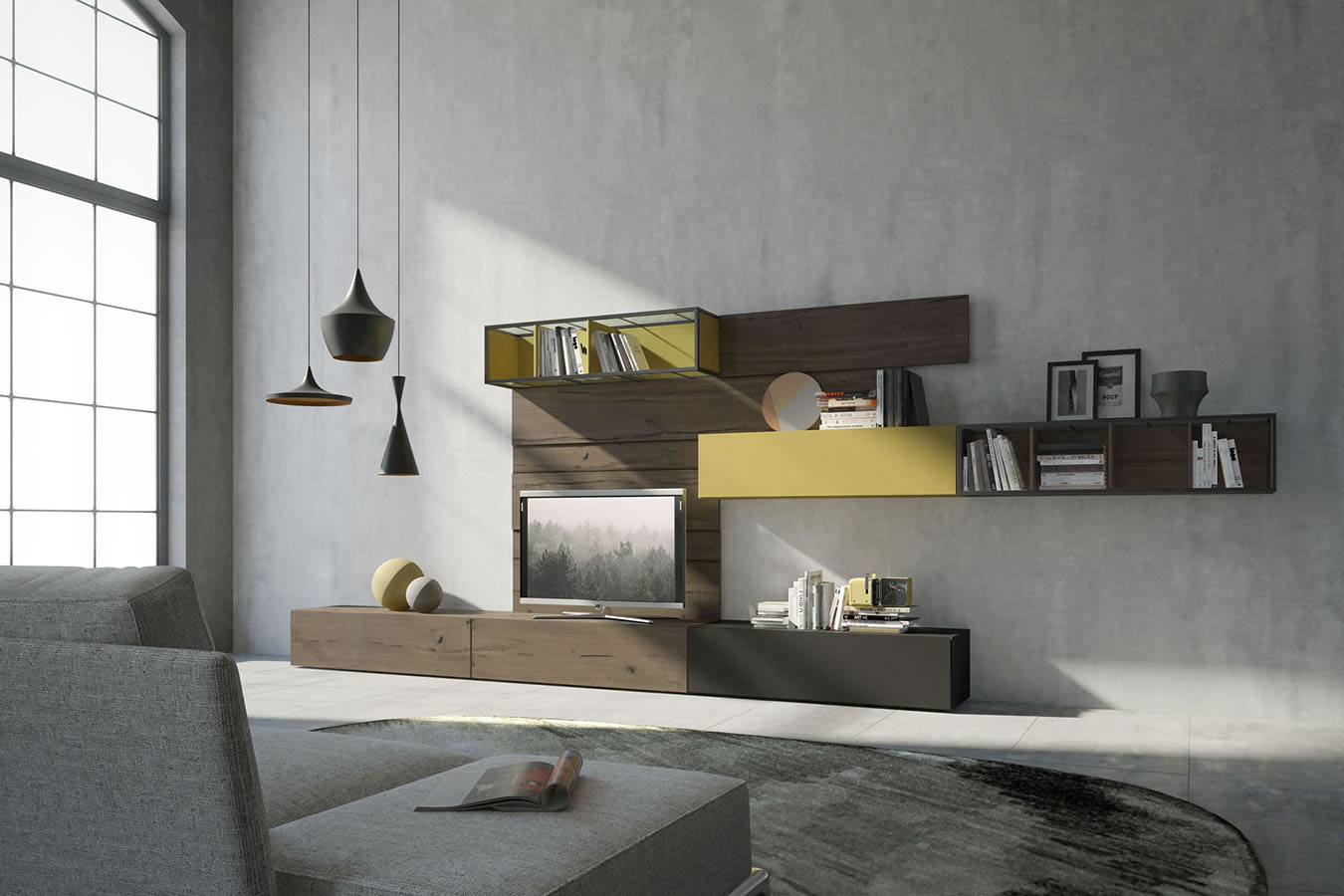 mobili giorno moderni