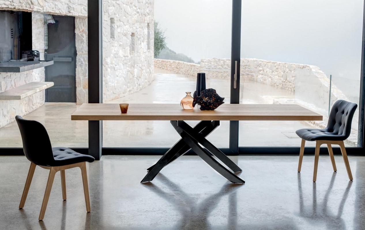 tavolo legno moderno