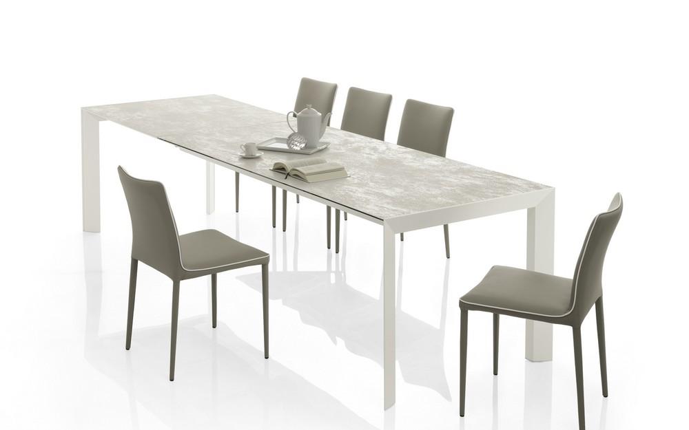 tavolo allungabile ceramica bontempi genio