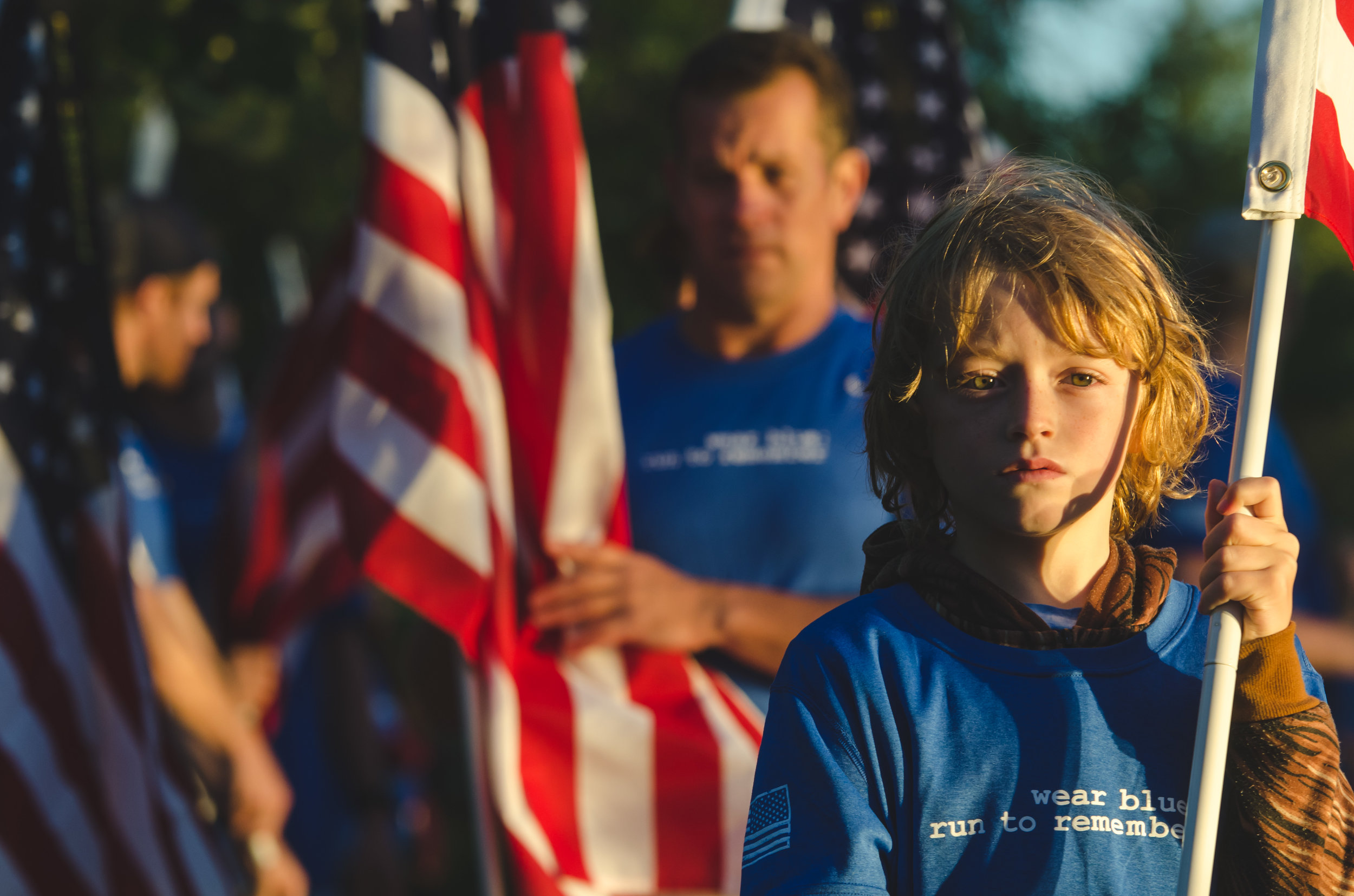 chicago, il - wear blue: run to remember