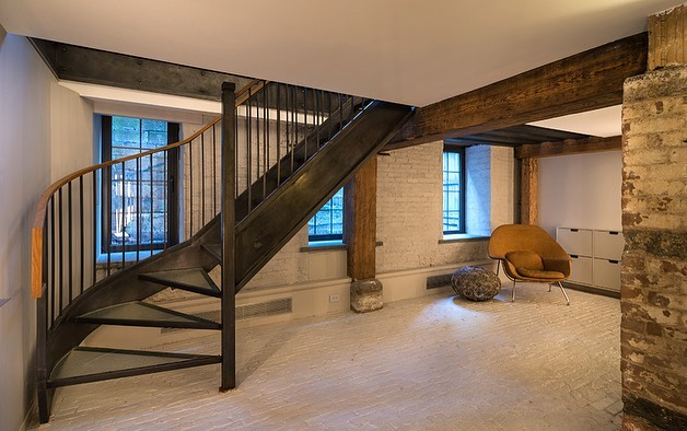 Our glass and steel stair design from our South Street Seaport Project... . . . . . . . . . #modernhomes #nycarchitect #architectnyc #modernarchitect #renovation #architecture #design #interiors #interiordesign #construction #renovation #interiorrenovation #building #glassstair #stair #stairporn #stairinspo #steelstair #steelandglass