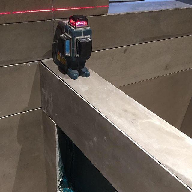 Tiling... . . . . . . . . . #modernhomes #nycarchitect #architectnyc #modernarchitect #renovation #tile #concretetile #architecture #design #interiors #interiordesign #construction #renovation #interiorrenovation #building #concretecollaborative #walltiles #modernconcrete #concrete #concretelove