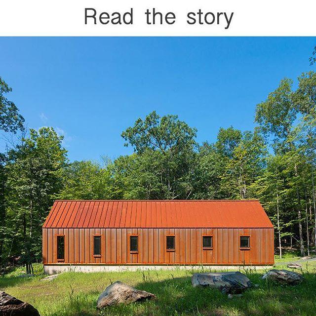 #pondhouse #pondhouseny #cabin #upstatenewyork #catskillscabin #moderncabin #modernarchitect #modernism