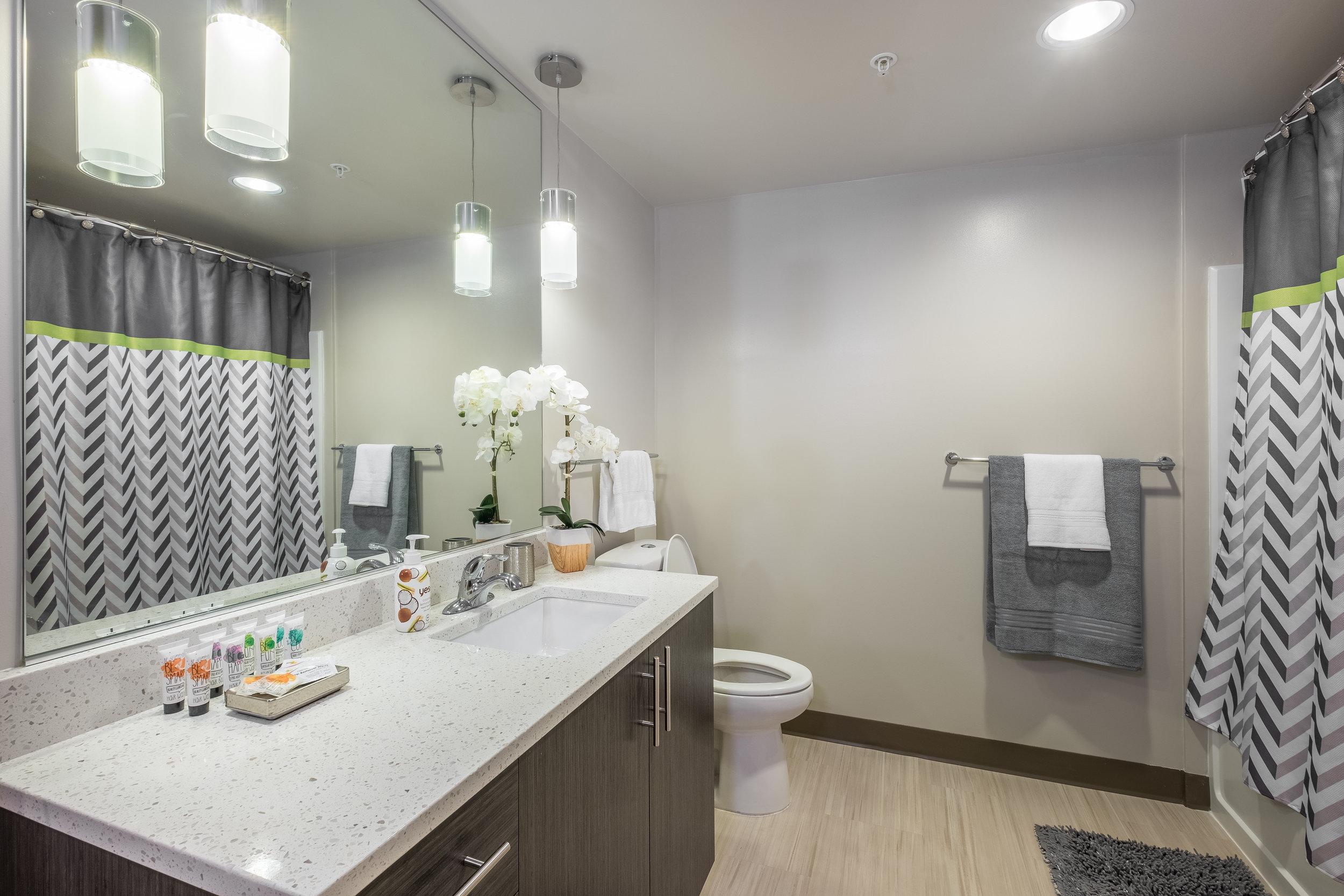 Short-Term/ Vacation Rental: Bathroom and Amenities Furnishing