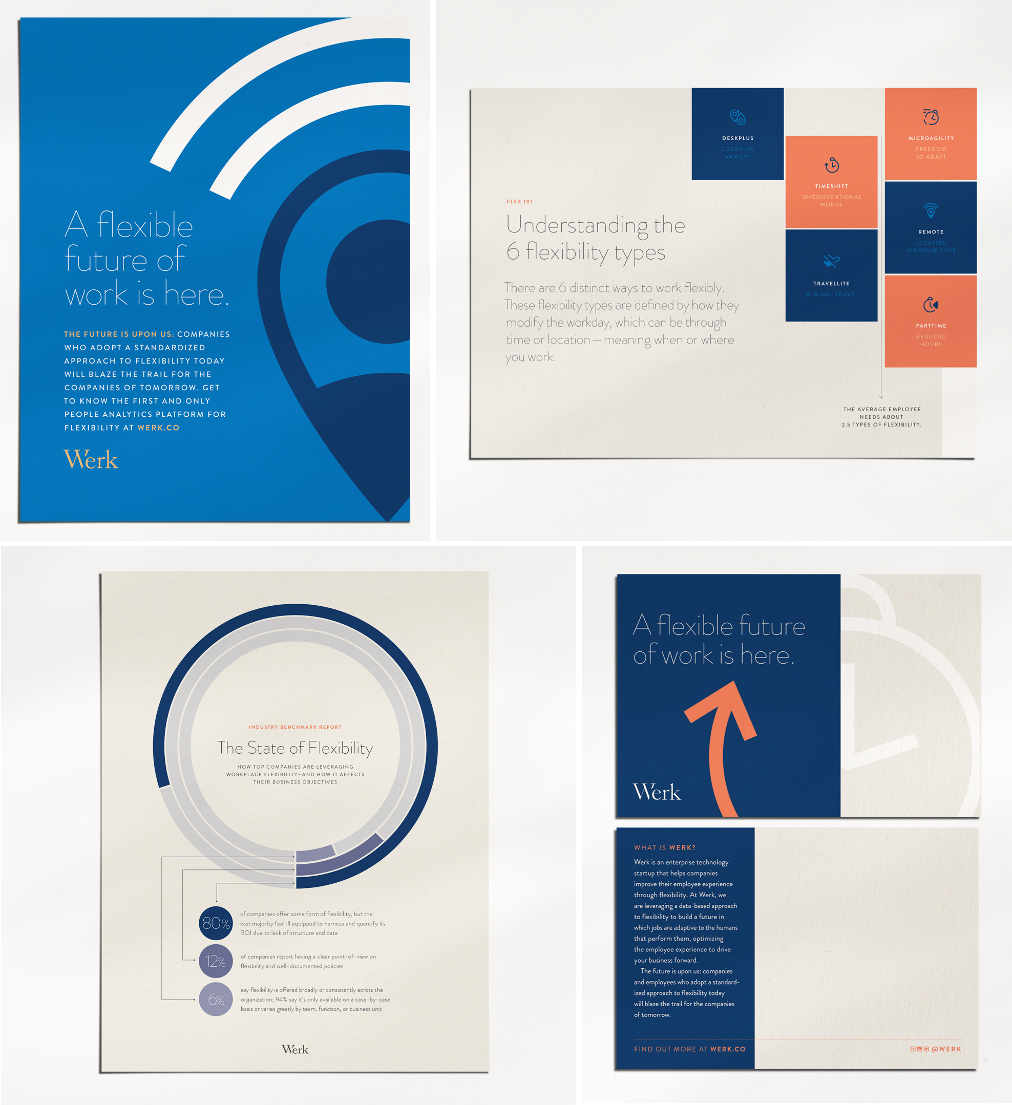 Marketing + sales collateral