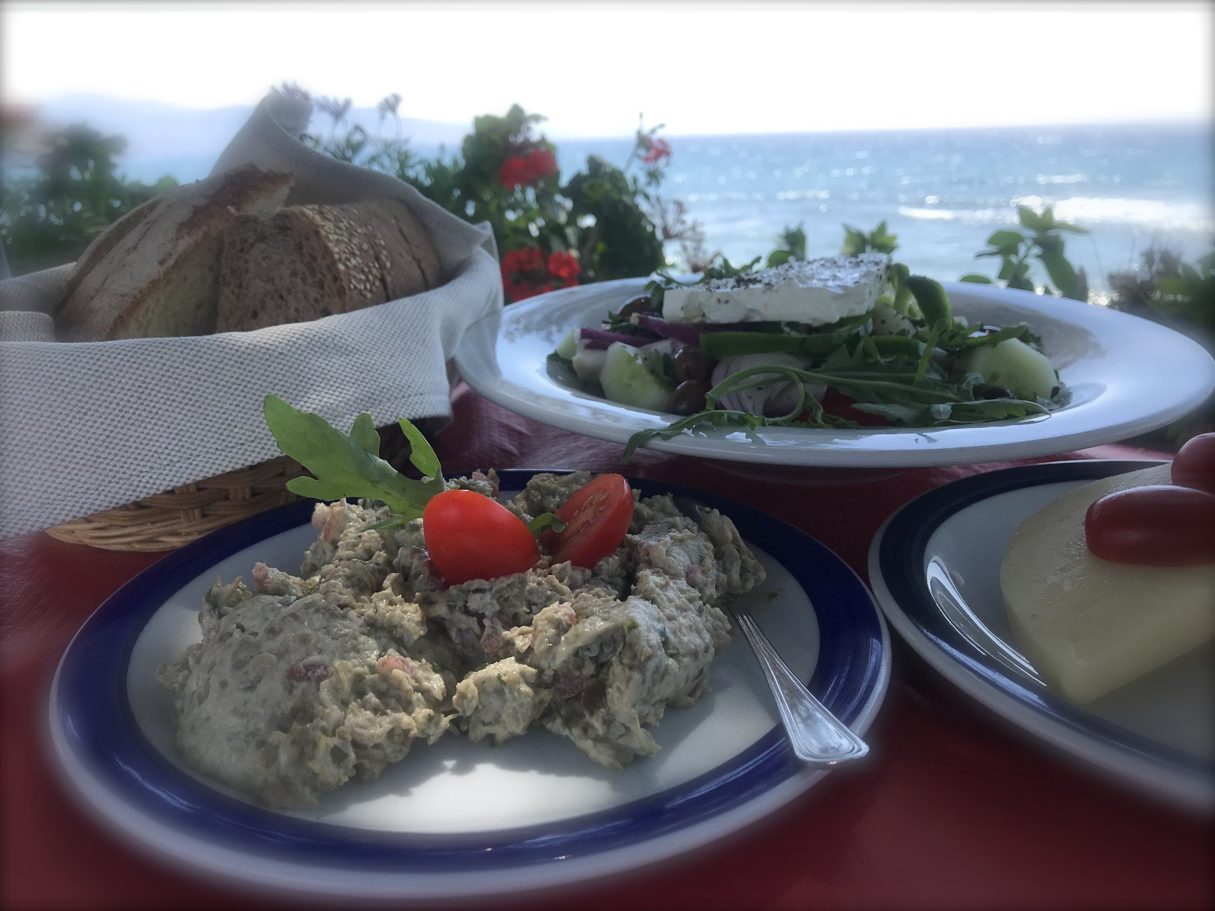 Frokost Molivos