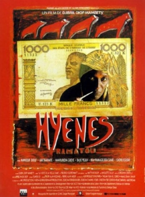 The 1992 poster for  Hyenas.   Source.