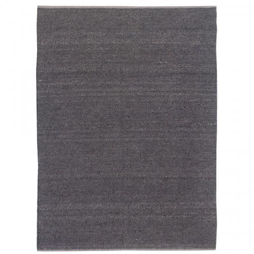 Earthtone Rug - Handwoven - Polyester & cotton - Dark greyThree sizes: 6' x 8' / 8' x 10' / 9' x 12'